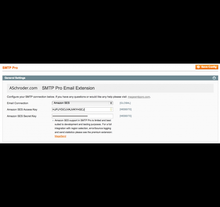SMTP Pro Email - Free Custom SMTP Email Magento Extension by