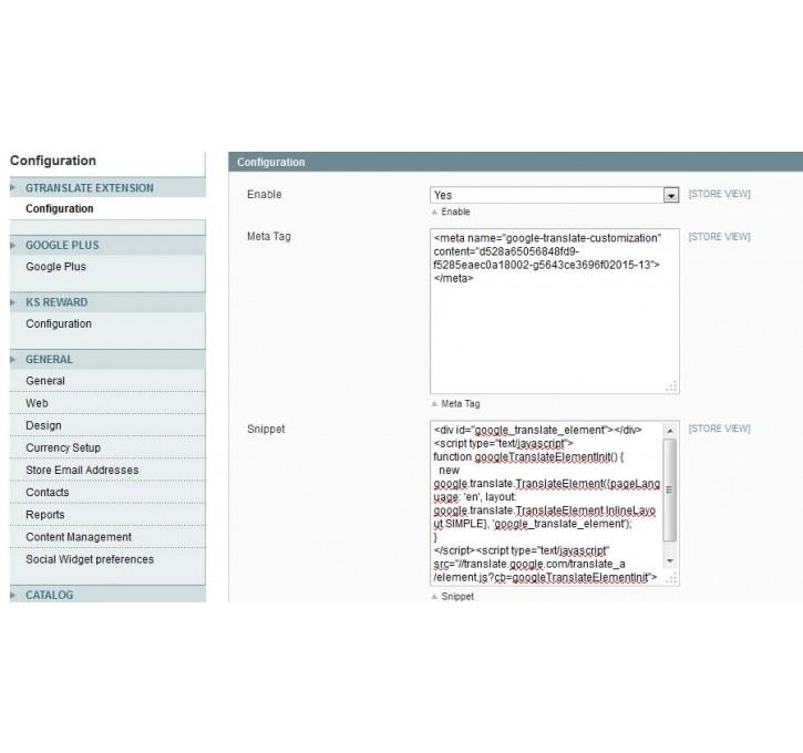Google Translate Widget Magento Extension by Ansyori B   MageCloud net